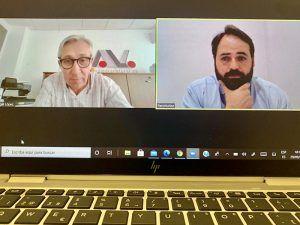 El presidente de CEAT C-LM analiza las ayudas por cese de actividad para autónomos con Paco Núñez
