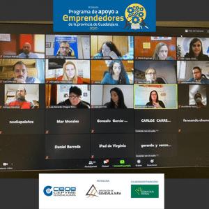 El Programa de Apoyo a Emprendedores de la provincia de Guadalajara de CEOE celebra su segunda jornada colectiva