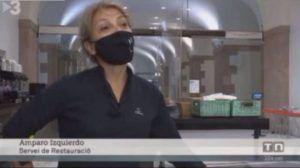 El separatismo catalán exige el despido del Parlament de una camarera de Cuenca por hablar en español en TV3