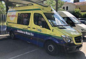 El transporte sanitario de Castilla-La Mancha inicia a las cero horas de mañana martes la primera de 24 jornadas de huelga