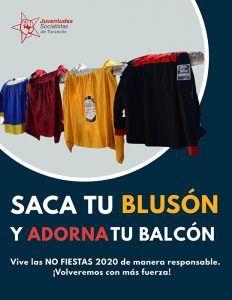 """Juventudes Socialistas de Tarancón pide responsabilidad durante estos días de """"No Fiestas"""" y lanza la campaña #SacaTuBlusón"""