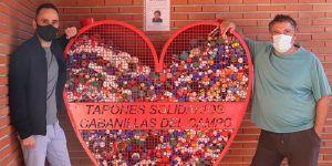 Kilos de tapones con destino solidario desde Cabanillas