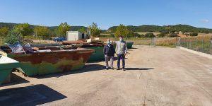 La Diputación de Cuenca duplica la recogida del servicio de Puntos Limpios con la entrada en vigor del nuevo contrato
