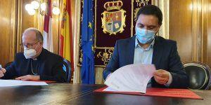 La Diputación de Cuenca y el Obispado renuevan el convenio para invertir 700.000 euros en 16 edificios religiosos de la provincia
