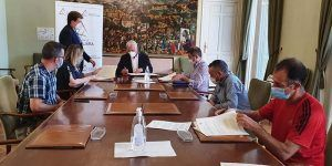 La Diputación de Guadalajara firma tres nuevos convenios de apoyo a clubes deportivos de distintas zonas de la provincia