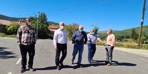 La Diputación de Guadalajara invierte más de 1,5 millones de euros en la mejora de su red de carreteras en la zona de la sierra