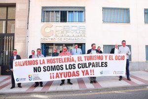 La Federación de Turismo y Hostelería de Guadalajara se concentra para apoyar al sector del turismo, ocio y ocio nocturno de la provincia