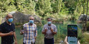 La Junta pone en marcha la APP ´River Up´ que te permite conectar con el Río Júcar a su paso por Cuenca