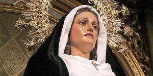 La V. H. de Ntra. Sra. de la Soledad (vulgo de San Agustín) suspende sus cultos anuales de septiembre a causa del Covid