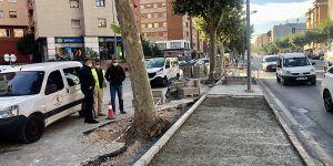 Las actuaciones del contrato de mantenimiento de vías públicas llegan a Hermanos Becerril
