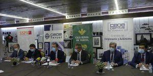 Las organizaciones empresariales de Soria, Cuenca y Teruel mantienen la colaboración con las cajas rurales en la batalla frente a la despoblación