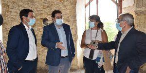 Martínez Chana anuncia la licitación de la hospedería de Huete que tendrá una inversión de 2,9 millones de euros