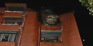 Ocho personas afectadas y 17 desalojados de las Casas del Rey de Guadalajara por un incendio intencionado