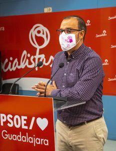 """Pablo Bellido """"Ha tenido que volver un Gobierno socialista para que se recuperen las inversiones en los pueblos ribereños"""""""