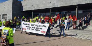 """Primera semana de huelga de ambulancias en Cuenca """"sin que empresa y administración regional se den por aludidos"""""""