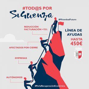 Un total de 80 pymes y autónomos han solicitado las ayudas COVID que ofrece el Ayuntamiento de Sigüenza
