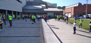 Amplio seguimiento de los paros en la primera de las 24 jornadas de huelga del Transporte Sanitario de CLM
