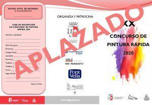 Aplazada la XX Edición del Concurso de Pintura Rápida de Sigüenza