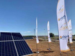 Audax Renovables inicia la construcción de 20 MW más en Torija