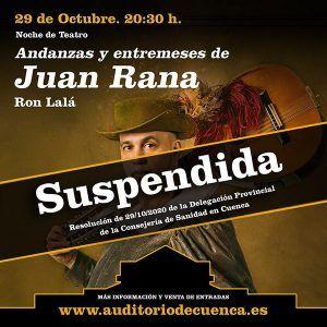 Auditorio Cuenca cartel suspensión