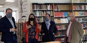 """Bellido compara las bibliotecas con """"hospitales de soledad, escuelas de esperanza y fábricas de libertad"""""""