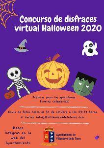 Concurso de disfraces Halloween 2020 Villanueva de la Torre