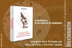 'Diccionario histórico de autoridades científicas de la provincia de Guadalajara'