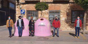 El Ayuntamiento de San Clemente se suma a la campaña de Ecovidrio 'Recicla Vidrio por ellas' con motivo del Día Mundial del Cáncer de Mama