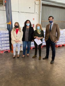 El PP en el Ayuntamiento de Guadalajara reconoce la labor del Banco de Alimentos y pide mayor apoyo institucional en estos momentos de crisis