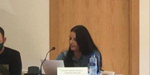 Esther García, portavoz del Grupo Municipal Popular en el Ayuntamiento de Yebes