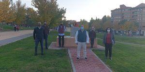 Homenaje victimas Covid en Guadalajara