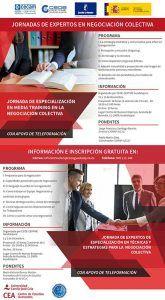 CEOE-Cepyme Guadalajara organiza dos jornadas de especialización en negociación colectiva