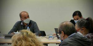 Israel Marco recoge las propuestas de asociaciones de vecinos y comerciantes de Guadalajara de cara a los presupuestos de 2021