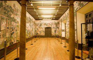 La China feudal, representada en el Salón Chino del Palacio de la Cotilla, detalle monumental este mes de las visitas turísticas a Guadalajara