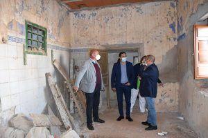 La Diputación de Cuenca ayuda a Pozorrubio de Santiago en la construcción de la hospedería Casa de los Portillo