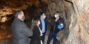 La Diputación de Cuenca colabora con el Ayuntamiento de Villares del Saz en la cuarta fase de la rehabilitación de la Cueva del Estrecho