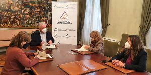 La Diputación de Guadalajara ayuda con 10.000 euros al mantenimiento y actividades de la Federación Provincial de Jubilados