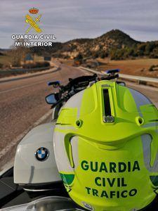 La Guardia Civil de Guadalajara investiga a un conductor que se grabó un vídeo cuando circulaba a 182 kmh