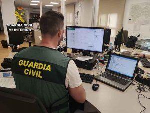 La Guardia Civil detiene a dos personas por un delito de robo en el interior de una vivienda en la Mancha Alta conquense