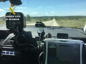 La Guardia Civil investiga al conductor de un turismo que circulaba por la carretera N-320 a la altura de Auñón a 185 Kmh.