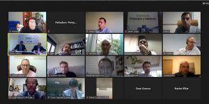 La Junta Directica de CEOE-Cepyme Cuenca aprueba realizar la Asamblea General de manera telemática
