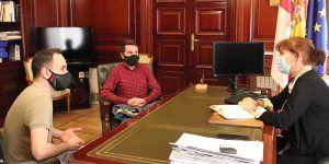 La nueva subdelegada del Gobierno de España en Guadalajara recibe por primera vez al alcalde de Cabanillas del Campo