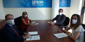 La patronal conquense colaborará con CECAM para realizar una guía de implantación de la igualdad en las empresas