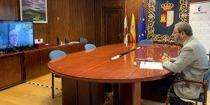 La tutora provincial de la Unidad de Acompañamiento Empresarial se reúne con los agentes económicos y sociales de Guadalajara