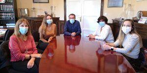 Los residentes de Enfermería Familiar y Comunitaria de Cuenca completan su formación en Salud Pública en la Delegación de Sanidad