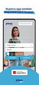 Los usuarios de AppGallery ya pueden encontrar el inmueble deseado a través de la app pisos.com
