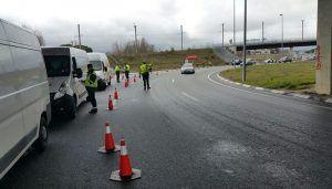 Policía Local de Cuenca y Agentes de Movilidad llevan a cabo una campaña de vigilancia y control de camiones y autobuses