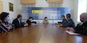 Reunión del CECOR de Guadalajara para reforzar la coordinación entre Fuerzas y Cuerpos de Seguridad y Sanidad