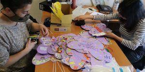 Cabanillas celebra con mariposas en el Día Internacional de la Infancia