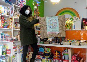 """Catorce establecimientos de Cuenca apoyan la recogida de juguetes """"Sus Derechos En Juego"""""""